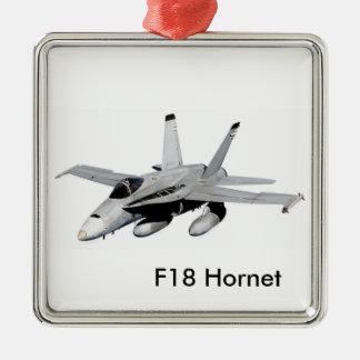 F18 Hornet image for Premium Square Ornament