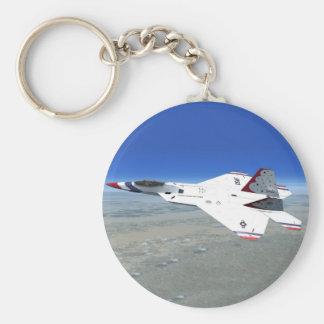 F22 Raptor Blue Angels Jet Fighter Plane Keychain