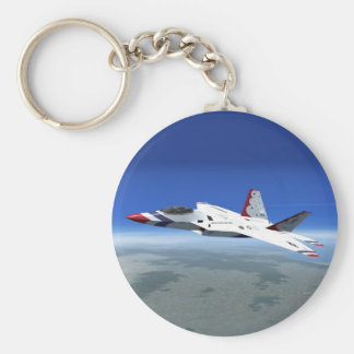 F22 Raptor Blue Angels Jet Fighter Plane Keychain