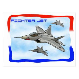 F22 Raptor fighter jet Postcards