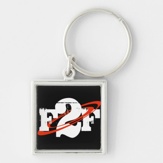 F2F Square Keychain