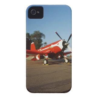 F2G-1D Super Corsair airplane at an air show in Case-Mate iPhone 4 Case