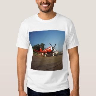 F2G-1D Super Corsair airplane at an air show in Tshirt