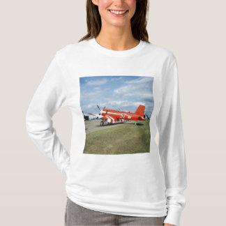 F2G-1D Super Corsair airplane at the air show in T-Shirt