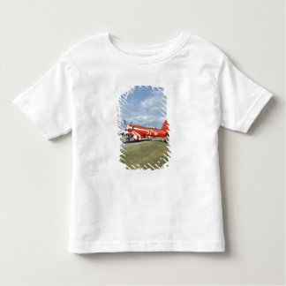F2G-1D Super Corsair airplane at the air show in Toddler T-Shirt