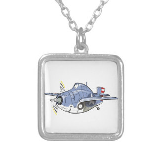 f4f wildcat silver plated necklace