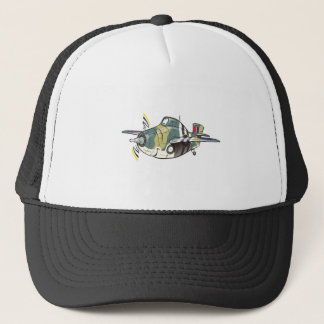 f4f wildcat trucker hat