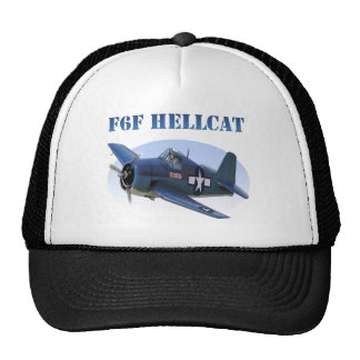 F6F Grumman Hellcat Mesh Hats