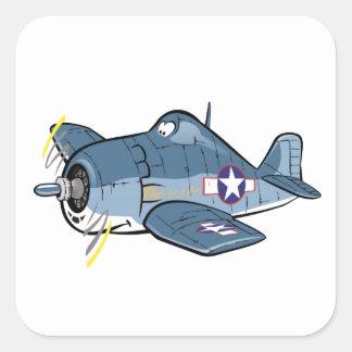 f6f hellcat square sticker