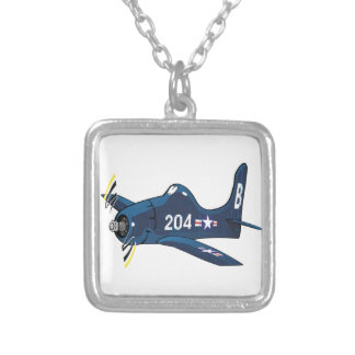 f8f bearcat square pendant necklace