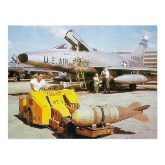 F-100 Super Sabre Post Card