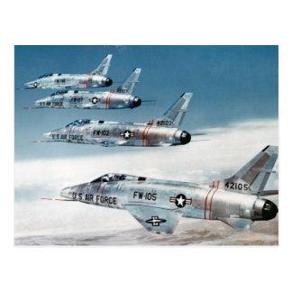 F-100 Super Sabres Postcards