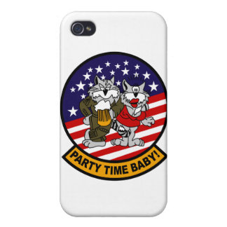 F-14 Tomcat Party Time iPhone Case Cover For iPhone 4