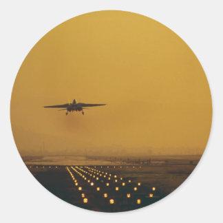 "F-14 ""Tomcat"" Round Stickers"
