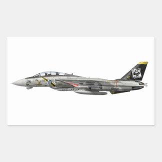 F-14 Tomcat Rectangular Sticker