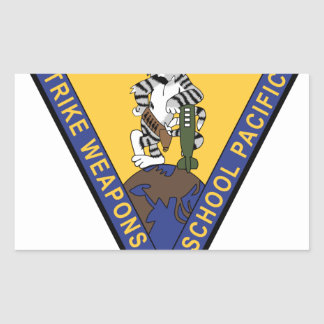 f-14 tomcat strike weapons school pacific rectangle sticker