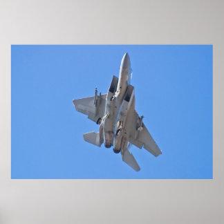 F-15 Eagle Belly Shot Poster