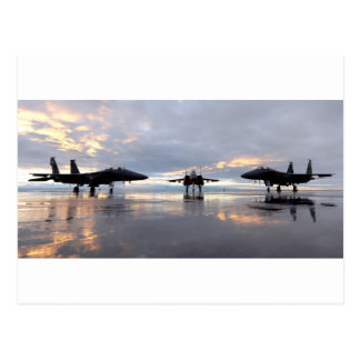 F-15 Eagle Fighter Jet Postcard