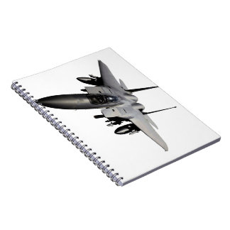 F-15 Eagle Jet Fighter Note Book