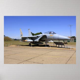 F-15 Eagle Jet Fighter Plane Poster Print