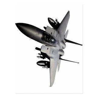 F-15 Eagle Jet Fighter Post Card