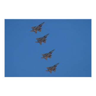 F-15 Eagles Returning to Nellis Poster
