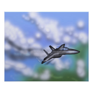 F-15 Fighter Poster