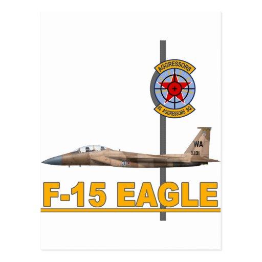 F-15 Strike Eagles 65th Aggressors Squadron Post Card