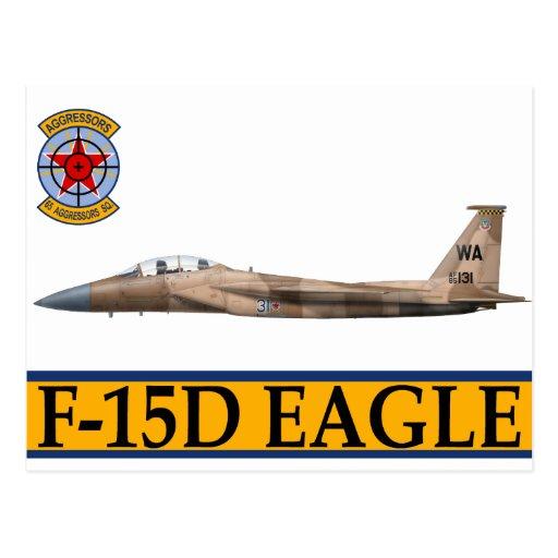 F-15 Strike Eagles 65th Aggressors Squadron Post Cards