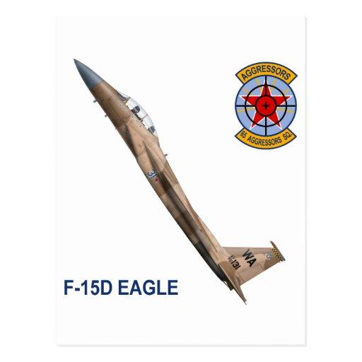 F-15 Strike Eagles 65th Aggressors Squadron Postcard