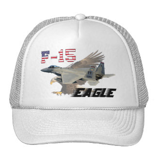 F-15C Eagle USAF Background Bald Eagle Cap