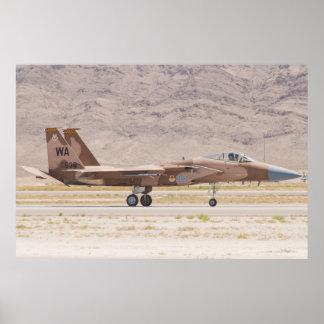F-15C Eagle WA AF 78 538 Poster