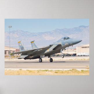 F-15C Eagle WA AF 83 0019 Poster