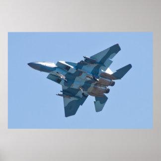 F-15D Eagle WA AF 80 0058 Banking Print