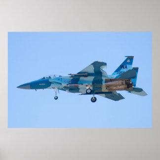F-15D Eagle, WA AF 80 0058 Poster