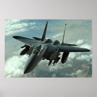 F-15E Strike Eagle Poster