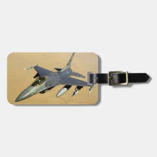 F-16 Fighting Falcon Block 40 aircraft Luggage Tag