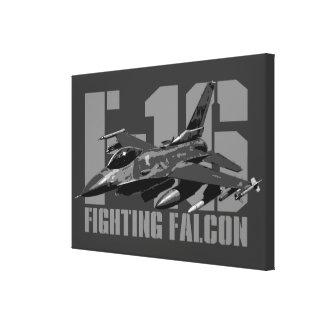F-16 Fighting Falcon Canvas Print
