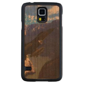 F-16 Fighting Falcon Carved Cherry Galaxy S5 Case