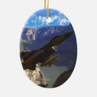 F-16 Fighting Falcon Christmas Ornament