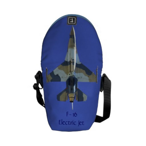 F-16 Fighting Falcon Electric Jet Courier Bags