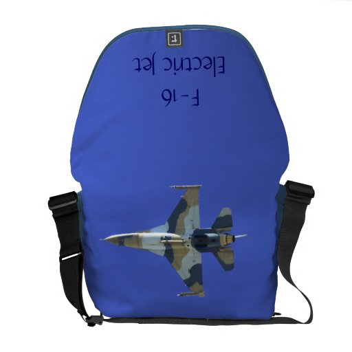 F-16 Fighting Falcon Electric Jet Courier Bag