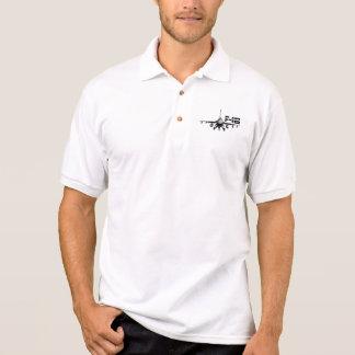 F-16 Fighting Falcon Polo T-shirt