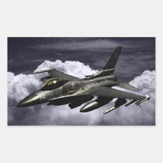 F-16 Fighting Falcon Rectangle Sticker