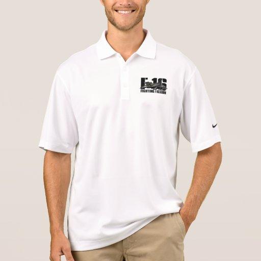 F-16 Fighting Falcon Polo T-shirts