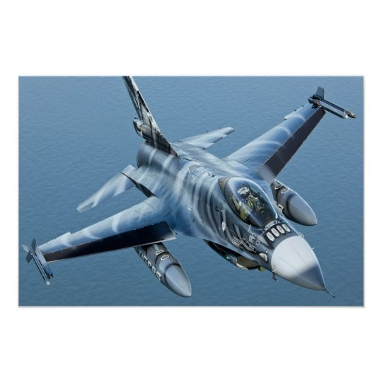F-16 Fighting Falcon upclose HD Poster