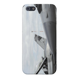 F-16 Fighting Falcons await to launch Cover For iPhone 5