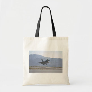 F-16 Landing At Luke Air Force Base Tote Bag