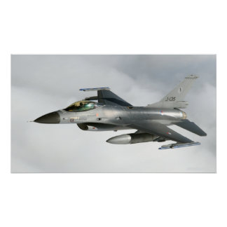F-16 of the Royal Netherlands Air Force Poster