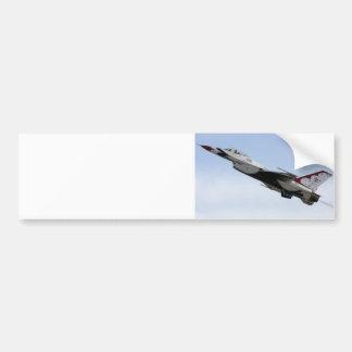 F-16 Thunderbird In Flight Bumper Sticker